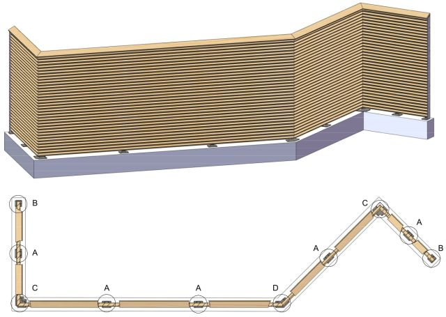 cadex edelstahlprofile pfosten. Black Bedroom Furniture Sets. Home Design Ideas