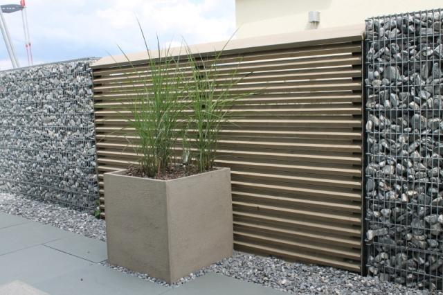 Betonwand Garten mit perfekt stil für ihr haus ideen