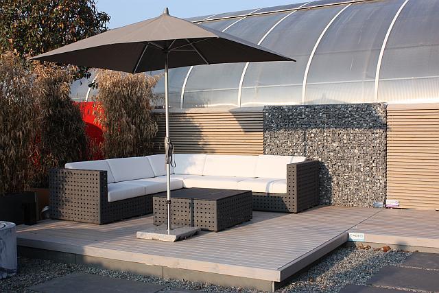 Sitzlounge terrasse